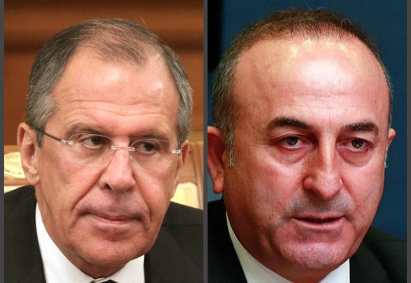 Главы МИД России и Турции обсудили ситуацию в районе Идлиба