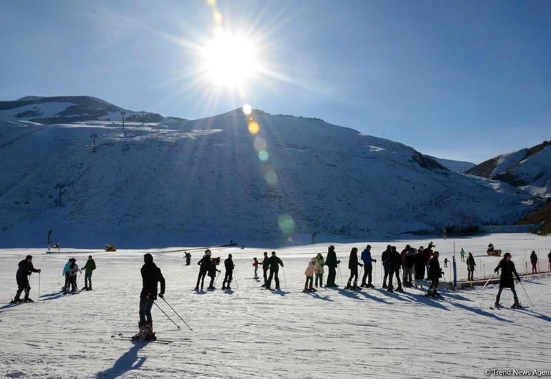 Зимний туризм в Азербайджане привлекает все больше туристов