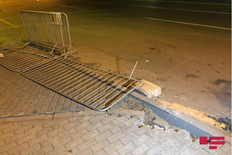 Погибшим в ДТП с мотоциклом в Баку оказался сотрудник полиции