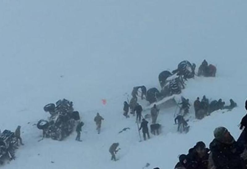 Сход лавины в Турции, десятки погибших
