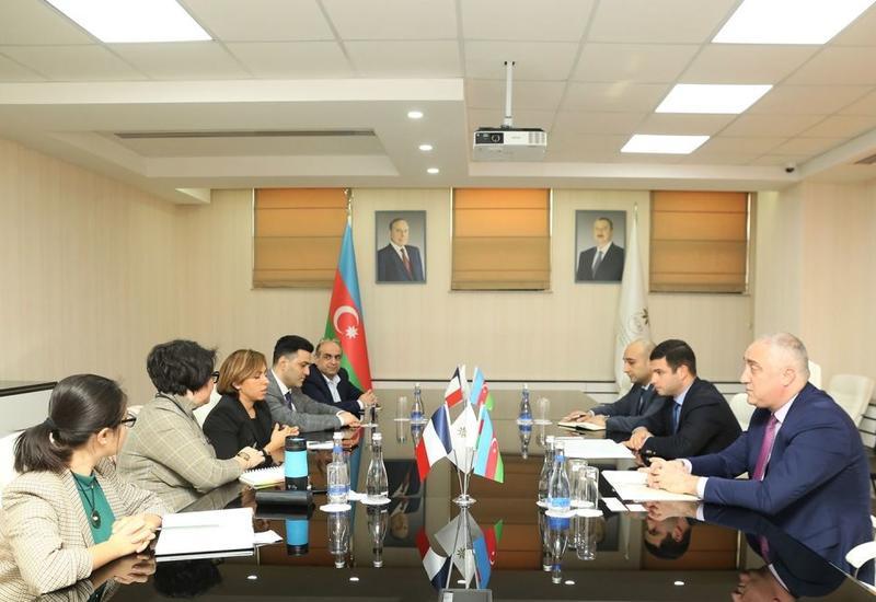 В Агентстве по развитию МСБ состоялась встреча с представителями Азербайджано-Французской торговой палаты