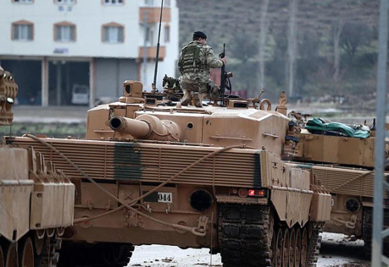 Турция стянула военные силы на северо-запад Сирии