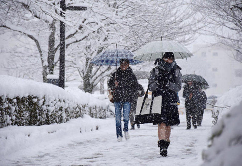 В Баку ожидается сильный снегопад