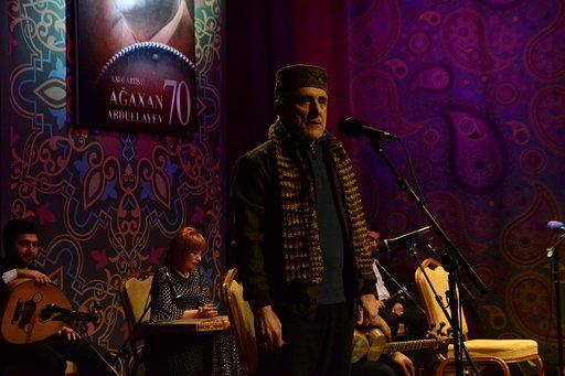 В Центре мугама отметили 70-летие народного артиста Агахана Абдуллаева