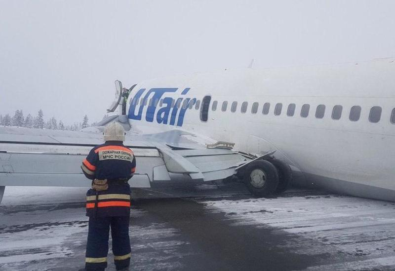 Самолет UTair совершил жесткую посадку в России