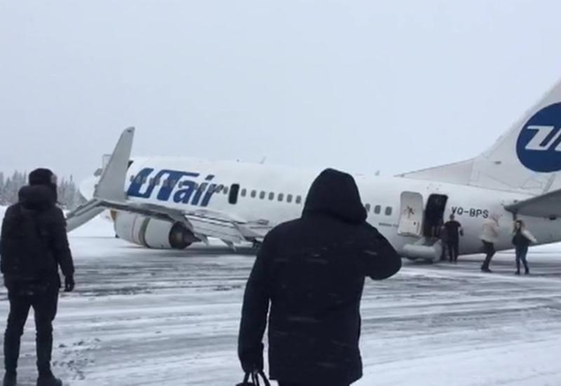 Названа причина жесткой посадки самолета UTair в России