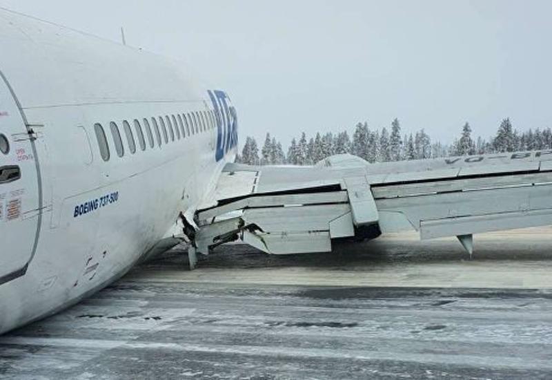 В России закрыли аэропорт на два дня после жесткой посадки самолета