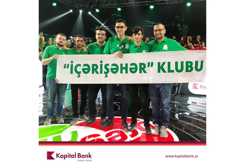 Kapital Bank наградил победителя игр «Брэйн Ринг» (R)