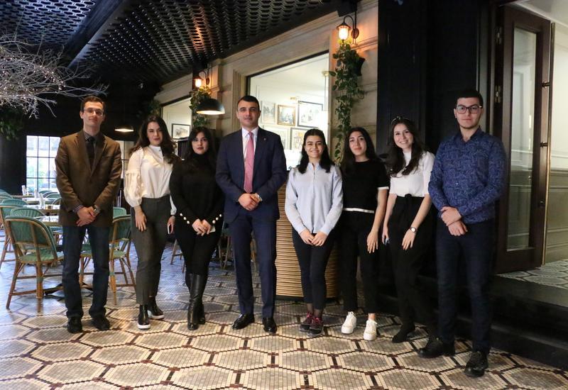 Студенты Университета АДА встретились с председателем правления PASHA Bank (R)