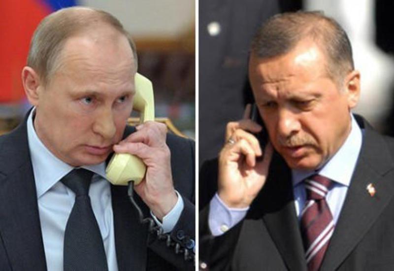 Путин и Эрдоган обсудят по телефону ситуацию в Сирии