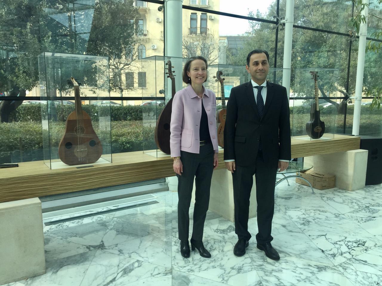 Посол Швейцарии посетила Международный центр мугама