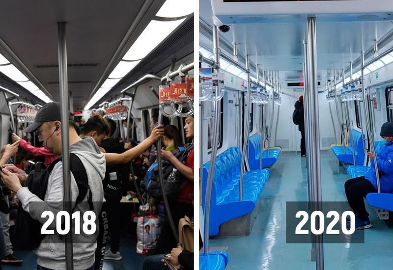 До и после коронавируса: как выглядит безлюдный Китай