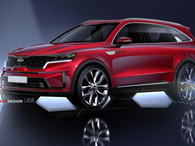 Официально раскрыт дизайн нового Kia Sorento