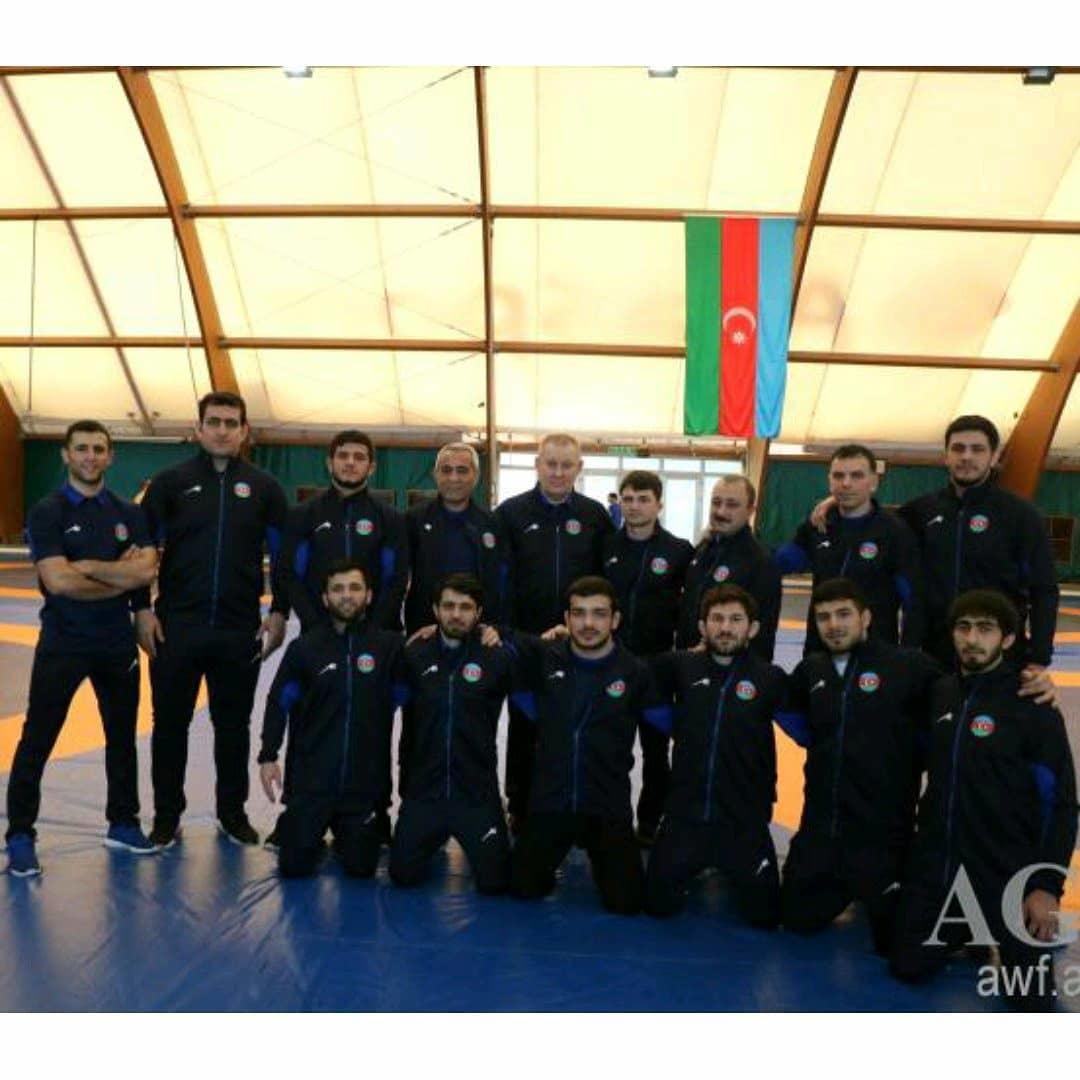 Первый вице-президент Мехрибан Алиева поздравила членов сборной Азербайджана по греко-римской борьбе