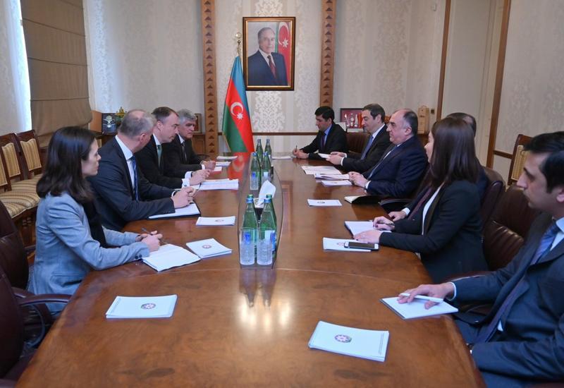 Эльмар Мамедъяров провел переговоры со спецпредставителем ЕС