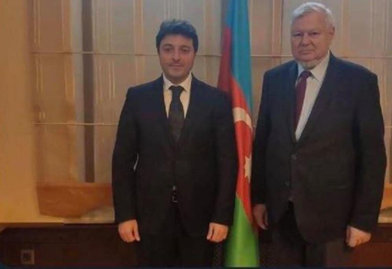 Каспршик поздравил Гянджалиева с избранием в парламент