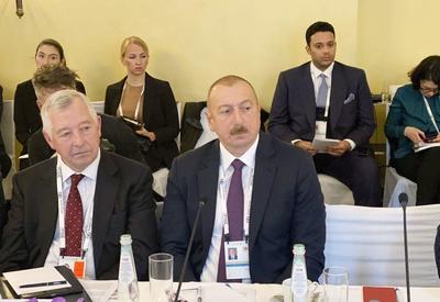Президент Ильхам Алиев: В наших планах – обеспечить до 2030 года 30 процентов электроэнергии за счет возобновляемой энергии