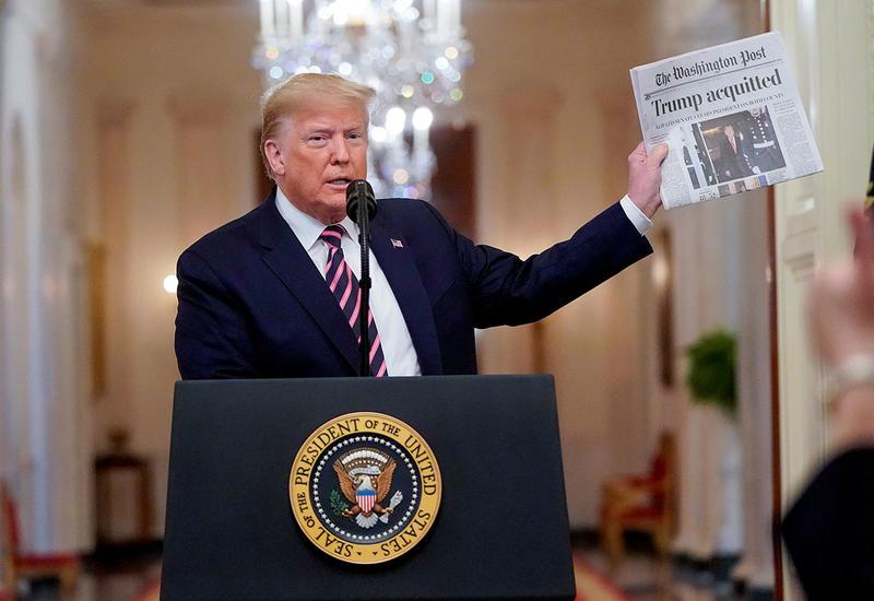 Трамп хочет запретить администрации слушать его международные звонки
