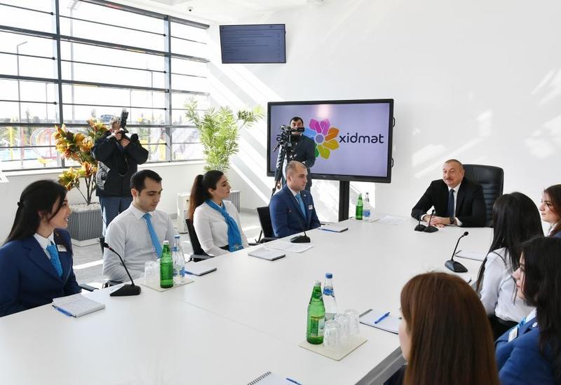 Президент Ильхам Алиев: Азербайджан является единственной страной на Южном Кавказе, где население растет