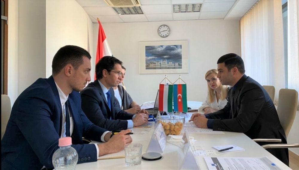 Агентство по развитию МСБ Азербайджана обсудило расширение сотрудничества с Венгрией