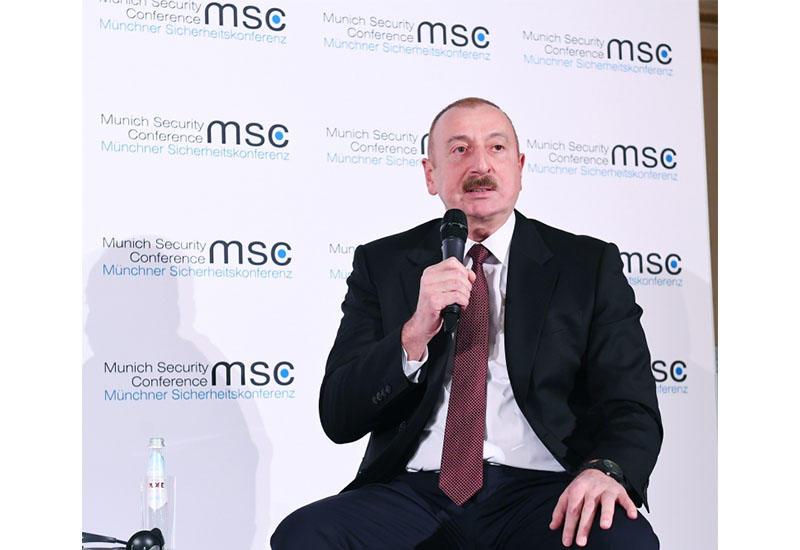 Президент Ильхам Алиев: Нагорный Карабах – составная часть Азербайджана, и территориальная целостность Азербайджана признается всей международной общественностью