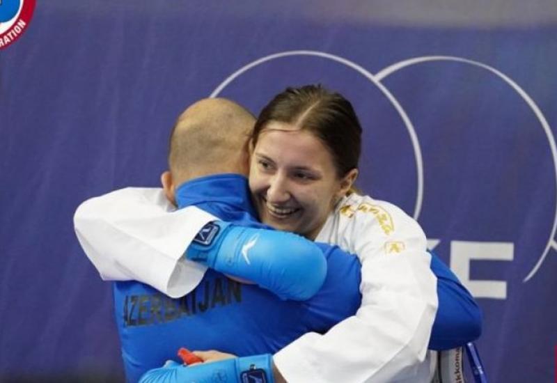 Азербайджанская каратеистка завоевала олимпийскую лицензию