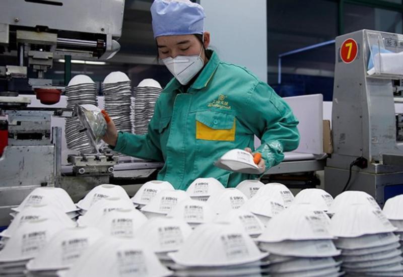 В Пекине планируют за 6 дней построить фабрику по производству медицинских масок
