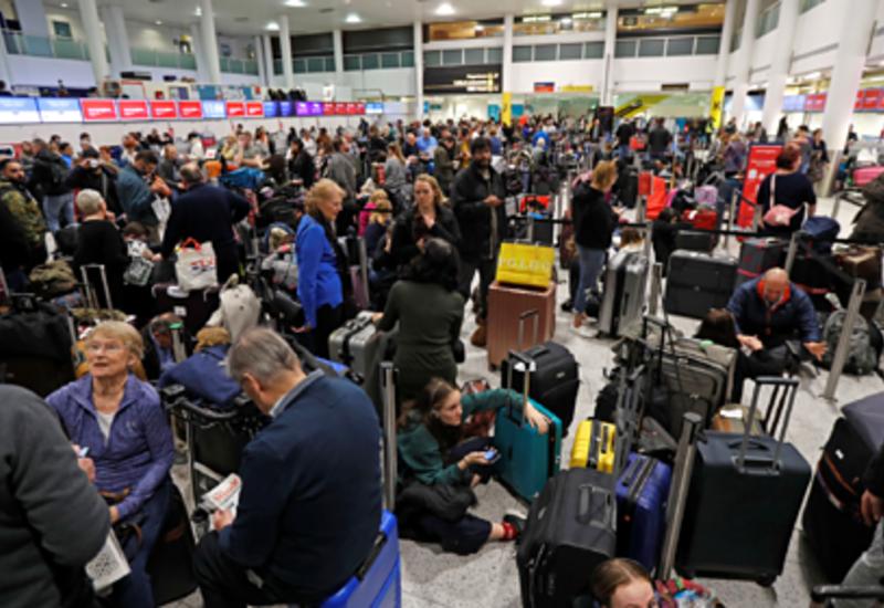 Определен порядок действий авиапассажиров в случае шторма