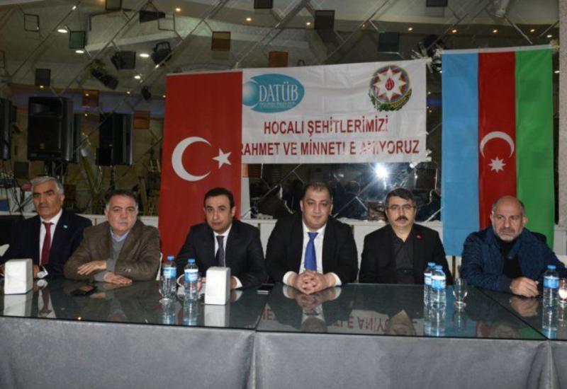 В Турции почтили память жертв Ходжалинского геноцида