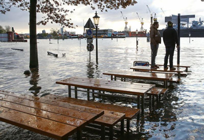 "Оценен урон от урагана ""Сабина"" в Германии"