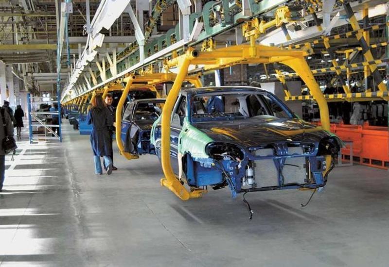 В Азербайджане резко возросло производство легковых автомобилей