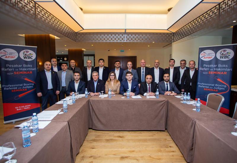 Федерация профессионального бокса Азербайджана впервые провела тренинги с WBC