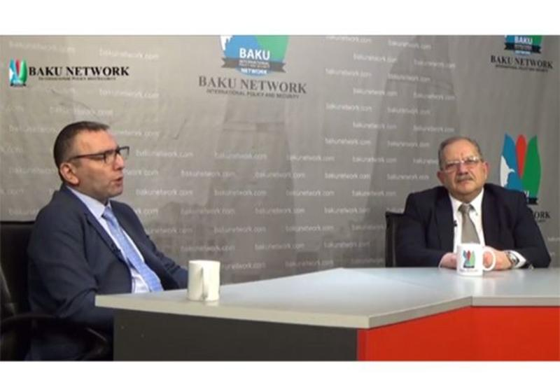 Эльхан Алескеров и Арье Гут обсудили на экспертной площадке Baku Network уровень развития азербайджано-израильских отношений