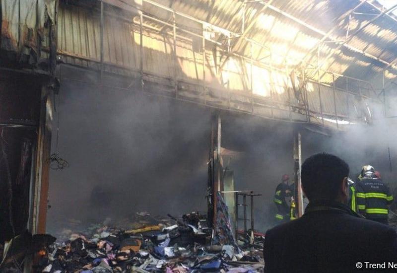 Предпринимателям будет возмещен ущерб, нанесенный в результате пожара в ТЦ «Садарак»