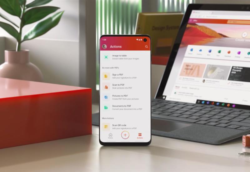 """Microsoft выпустила универсальный """"офис"""" для Android"""