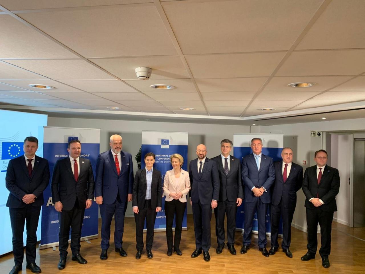 Эльмар Мамедъяров принял участие в Международной донорской конференции для Албании