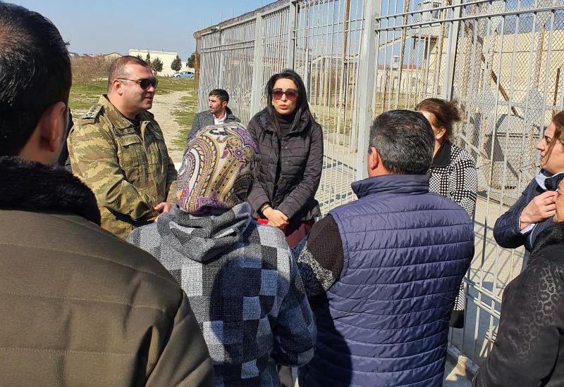 Омбудсмен Азербайджана встретилась с подозреваемым в убийстве Нармин Гулиевой