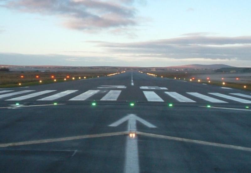 На новую взлетно-посадочную полосу в Нахчыване приземлился первый борт