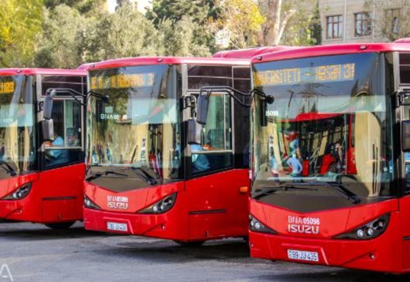 В Азербайджане общественный транспорт не будет работать три дня