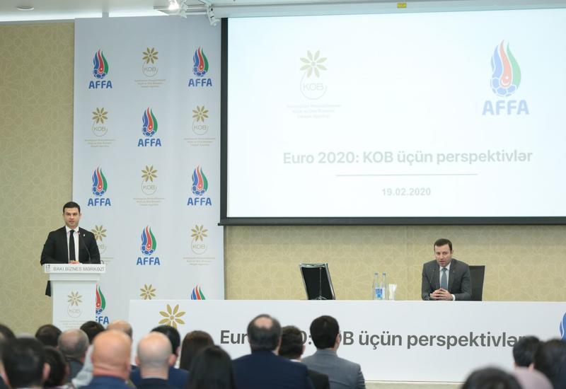 Орхан Мамедов: Агентство по развитию МСБ обеспечит поддержку предпринимателям на ЕВРО-2020
