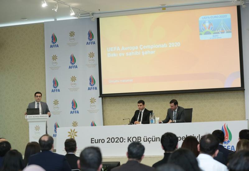 АФФА призывает предпринимателей активно участвовать в проведении ЧЕ-2020 в Баку