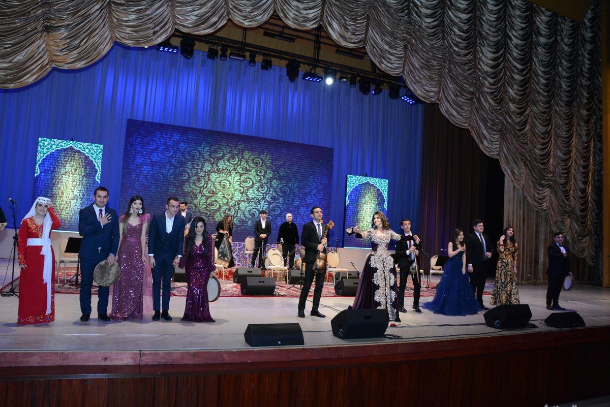 "Во Дворце Гейдара Алиева состоялся концерт ""Muğam dünyamıza səyahət"""
