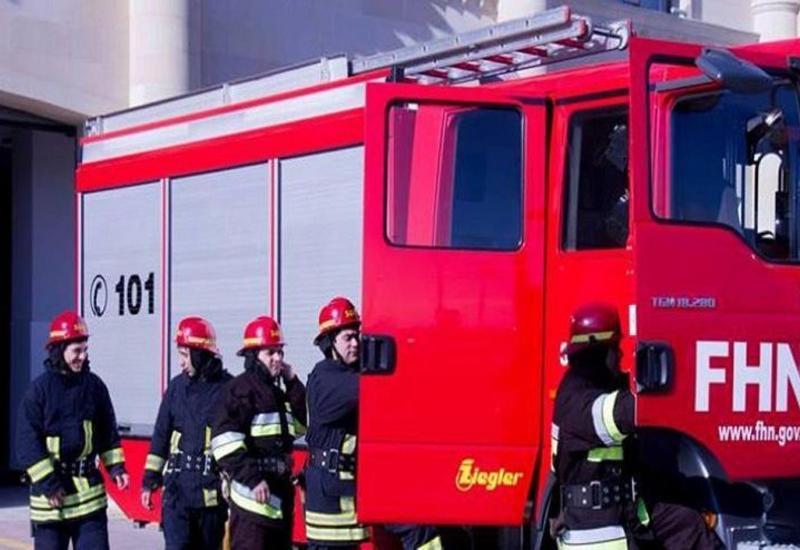 В жилом доме в Загатале произошел пожар