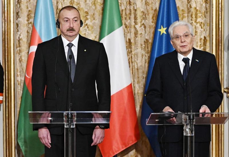 Президент Серджо Маттарелла: 2020 год объявлен в Италии «Годом Азербайджана»