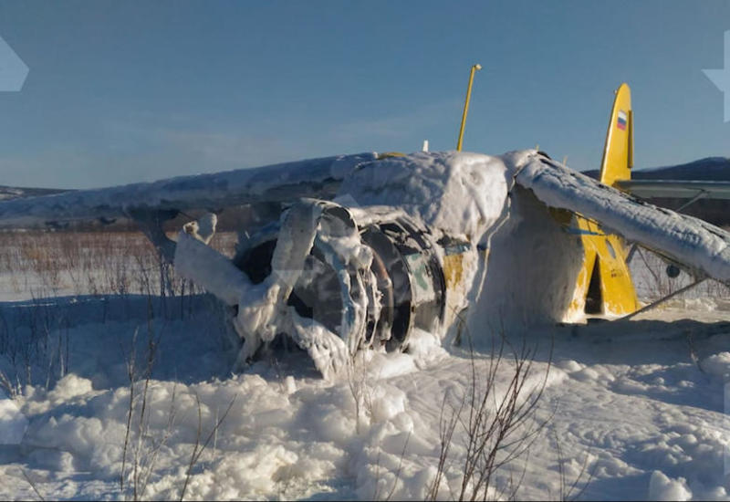 В России самолет совершил жесткую посадку сразу после взлета