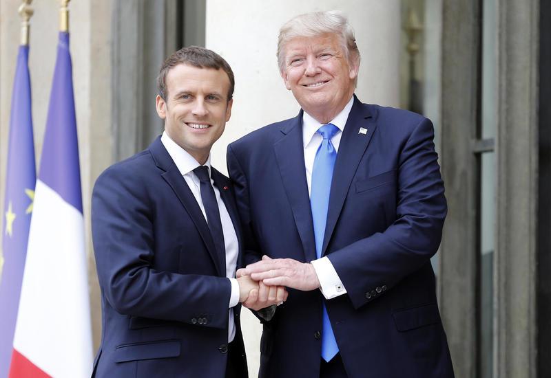 Трамп обсудил с Макроном НАТО и борьбу с терроризмом в Африке