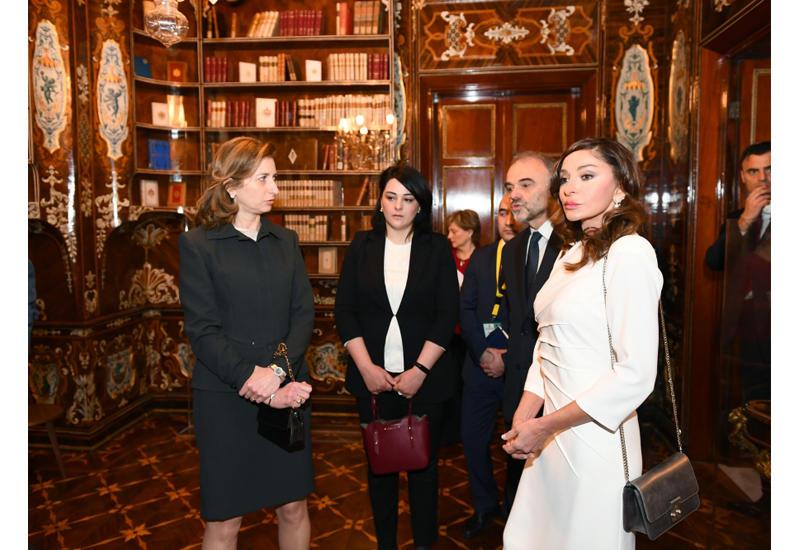 Первый вице-президент Мехрибан Алиева ознакомилась с Квиринальским дворцом в Риме