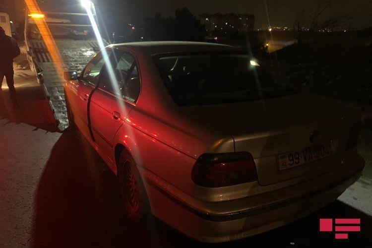 На шоссе Баку-Сумгайыт автомобиль насмерть сбил пешехода