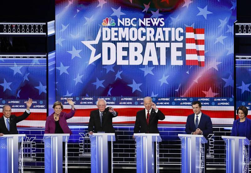В США трансляция теледебатов демократов собрала рекордное число зрителей