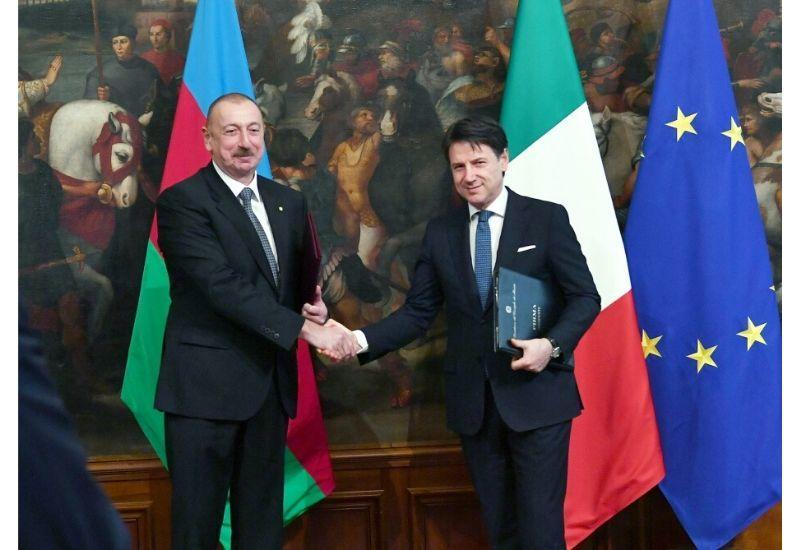Итальянский триумф политики Президента Ильхама Алиева